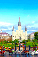 Carriages at Jackson Square