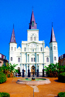 St. Lous Cathedral at Jackson Square